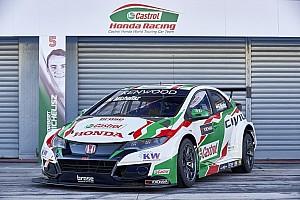WTCC Важливі новини Honda представила нову машину Civic WTCC