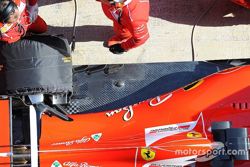 В Ferrari убрали загадочный элемент с днища