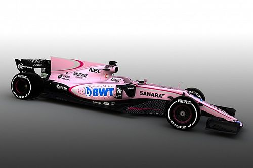 Neuer Sponsor: Force India fährt in der Formel 1 2017 in Pink