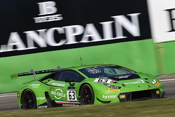 Blancpain Endurance Résumé de course Grasser Lamborghini s'impose lors de l'ouverture à Monza