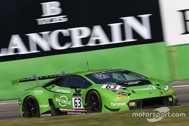 Grasser Lamborghini s'impose lors de l'ouverture à Monza