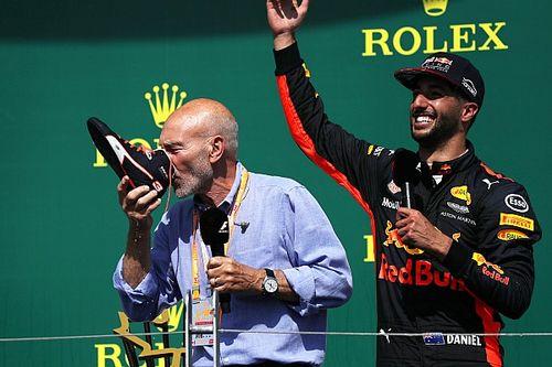 """Ricciardo: """"Solo me divertí al ver la bandera a cuadros"""""""