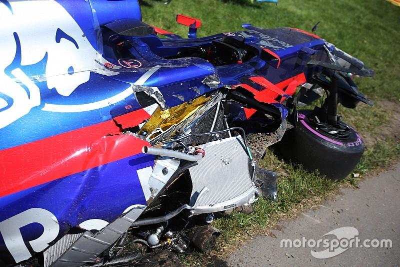 "Haas unhappy with Sainz's ""dull"" crash excuse"