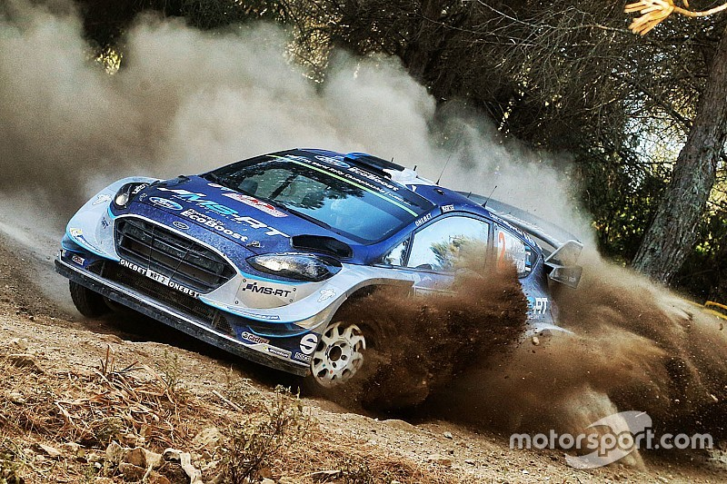 Italy WRC: Tanak takes over lead after Paddon crash