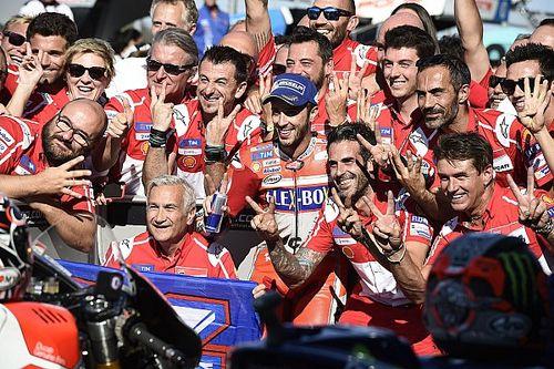 """Domenicali si gode la Ducati: """"Un Dovi pazzesco e Jorge cresce"""""""