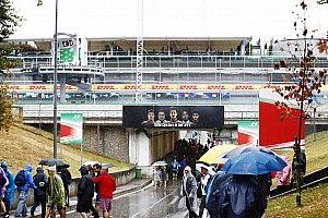 تأخير التجارب الحرّة الثالثة في مونزا «حتّى إشعارٍ آخر» بسبب الأمطار