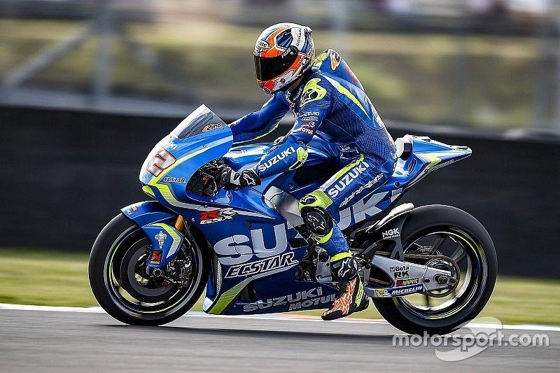 Suzuki prevê retorno de Rins em teste pós-GP da Catalunha