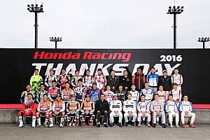Marquez and Pedrosa celebrate HRC's successful 2016 at Honda Racing Thanks Day