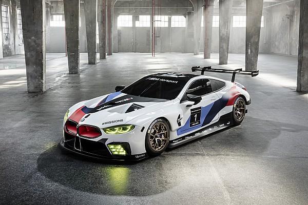 WEC Son dakika BMW resmi olarak M8 GTE aracını tanıttı