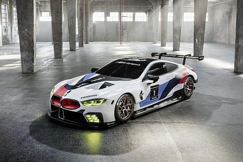 BMW desvela el M8 GTE con el que participará en el WEC