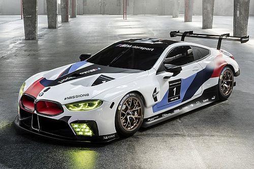 BMW ha presentato ufficialmente la M8 GTE per il WEC 2018