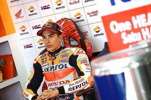 """Marquez: """"Oggi non contava essere veloci, ma minimizzare i rischi"""""""