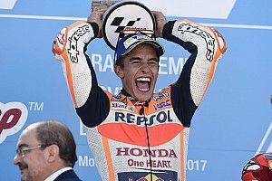 Según Honda, la victoria en Aragón serena a Márquez con vistas al triplete