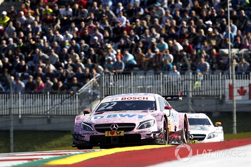 Mercedes retains four drivers for farewell DTM season