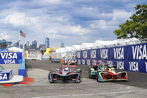La grille de départ de l'ePrix de New York