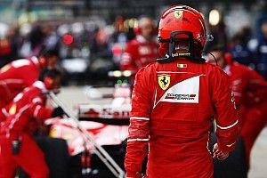 Amikor Räikkönen útnak indult a bahreini sivatagban - VIDEÓ
