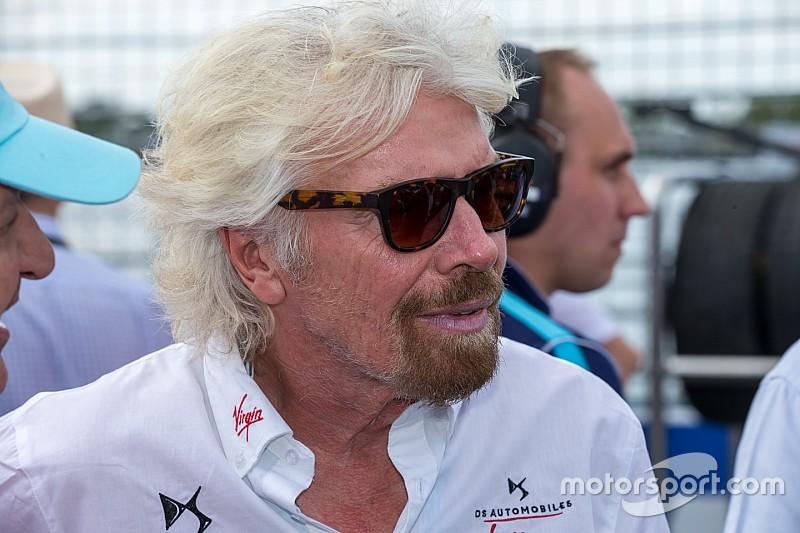 F-E irá superar F1 em dez anos, diz dono da Virgin