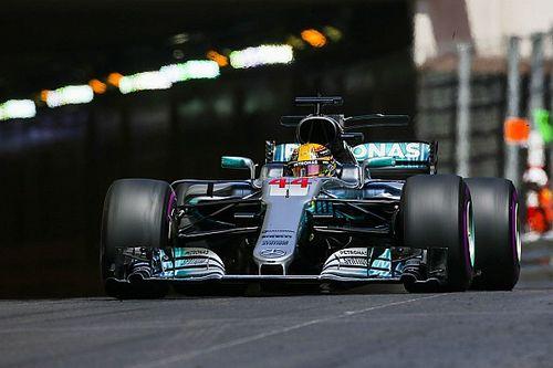 """Dificuldade de Hamilton em Mônaco é """"mistério"""" para Mercedes"""
