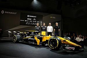 Renault presenta su monoplaza para 2017