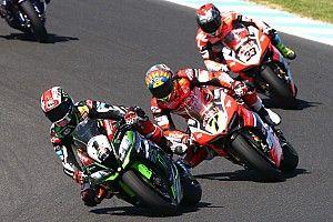 Fotogallery: la seconda manche di gara della Superbike a Phillip Island