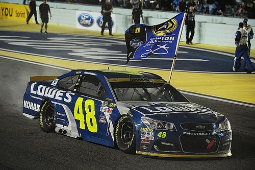 """Jimmie Johnson: """"There's no way they're changing rules based on the 48"""""""