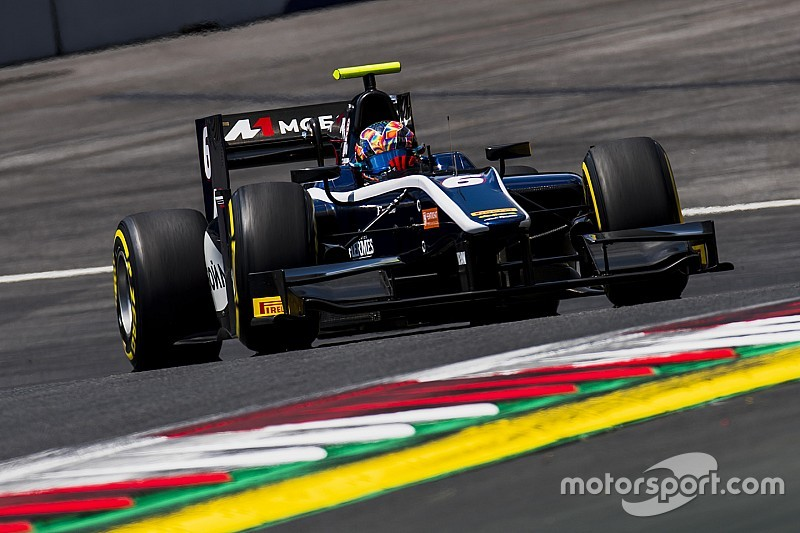 F2 Red Bull Ring: Markelov juara sprint race, Gelael gagal tambah poin