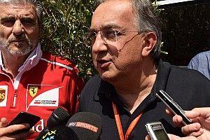 """Marchionne: """"Allo scambio Vettel - Hamilton non ho mai pensato!"""""""