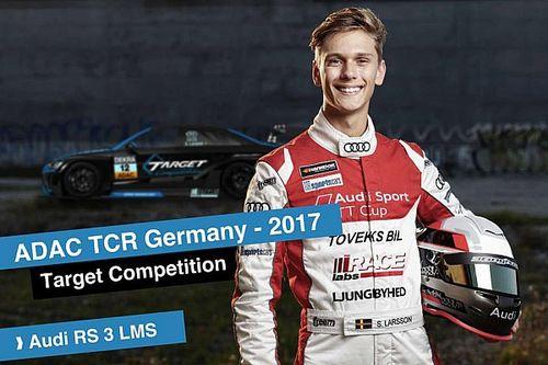 Simon Larsson è il terzo pilota della Target Competition