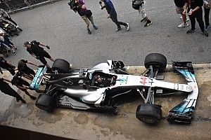 تحديثات على سيارة ومحرك مرسيدس في سباق برشلونة