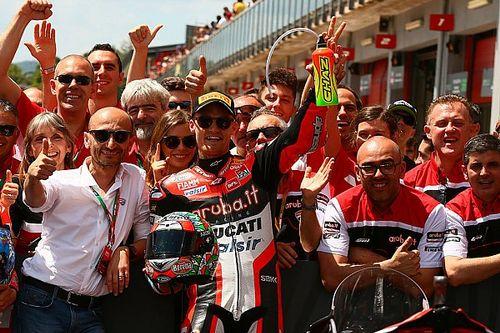 Ducati: il team va a trovare Davies all'Ospedale di Rimini