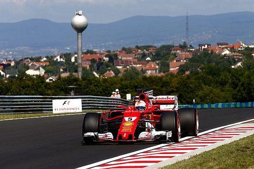 Vettel rapste in laatste training Hongarije, pech voor Ricciardo