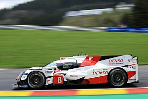 WEC Practice report Spa WEC: Toyota locks out top three in third practice