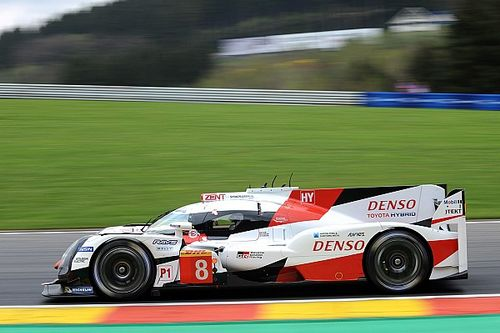 Spa WEC: Toyota locks out top three in third practice