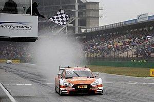 DTM Hockenheim: Green oppermachtig tijdens regenachtige tweede race