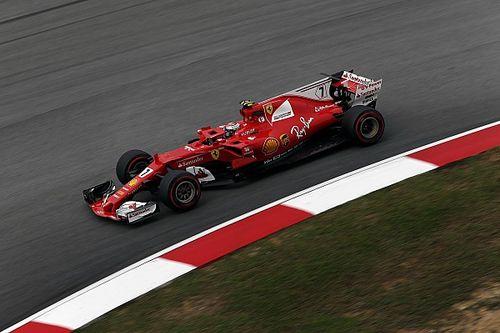 """Raikkonen: """"Con l'asciutto ho guidato una Ferrari competitiva"""""""
