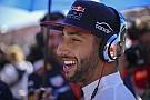 Ricciardo a szokásosnál is lazább: tud élni!