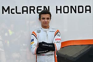 诺里斯下赛季起成为迈凯伦储备车手