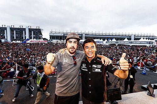 """Sato: """"Denk niet dat Alonso de Indy 500 had kunnen winnen"""""""