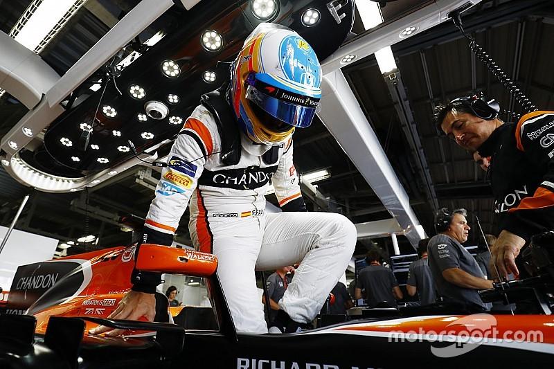 """Alonso dice estar """"contento"""" por el avance de Honda"""