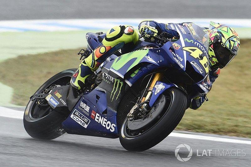 """Rossi sai com """"dores em todos os lugares"""" de Motegi"""