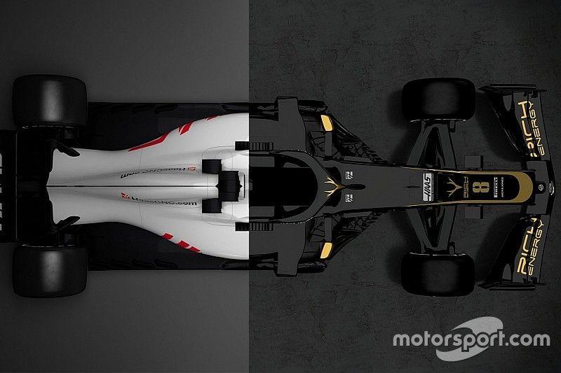 La comparación del Haas VF-18 y VF-19
