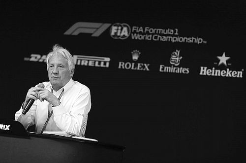 Autosport Awards: Charlie Whiting honoured with Bolster Award