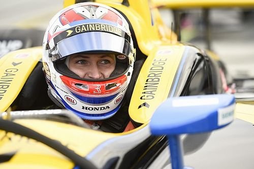 "Veach ""100 percent confident"" he's ready to win oval IndyCar race"