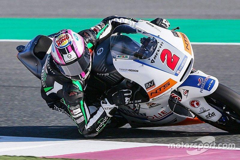 Jesko Raffin torna in Moto2 con la NTS RW Racing nel 2020