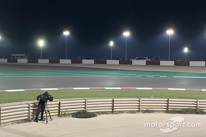 درّاجو الموتو جي بي يختبرون منطقة عقوبات جديدة في قطر