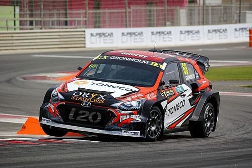 Norway World RX: Returnee Gronholm leads after Saturday