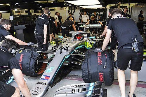 """Showlin di Mercedes: """"Russell sembra che corra in F1 da due anni e non da due GP!"""""""