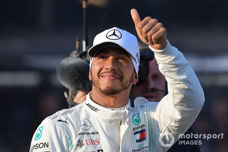 Сломанное днище Mercedes обрадовало Хэмилтона