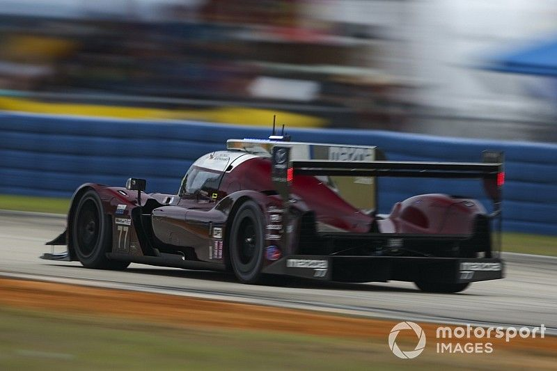 Mid-Ohio IMSA: Mazda sets 1-2 in wet-dry FP2