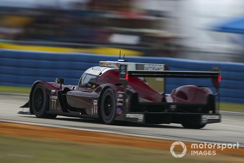 Mazda aventaja en una sesión 2 complicada en Mid-Ohio